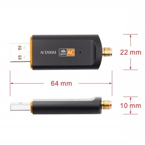 USB 2.0 600Mbps Dual Band WiFi Wireless Network Card USB Network Transmitter