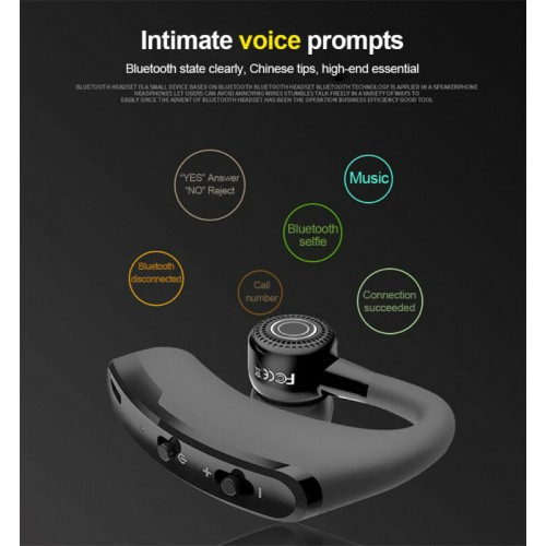 V9 Wireless 4.1Headphone Stereo Business Bluetooth Headset