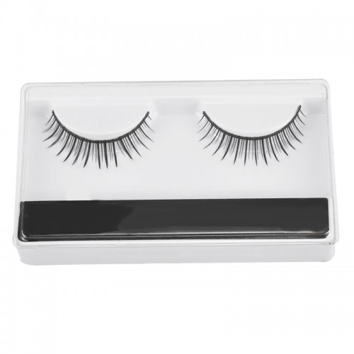 Vessel 1 Pairs False Eyelashes Natural Handmade Lifelike Eyelashes Cosmetics