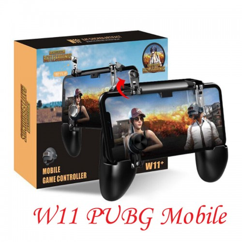W11+ PUGB Mobile Game Controller Free Fire Joystick Gamepad Metal L1 R1 Button For Phones