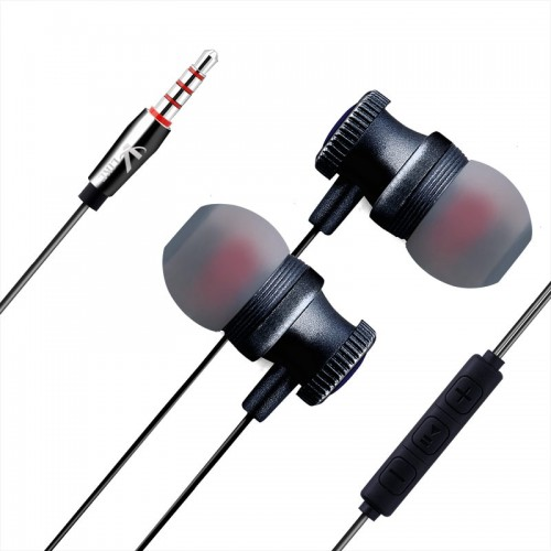 Wired Earphone 3.5mm In Ear Earphone Music Bass Stereo Headset With Microphone Sport Headphone