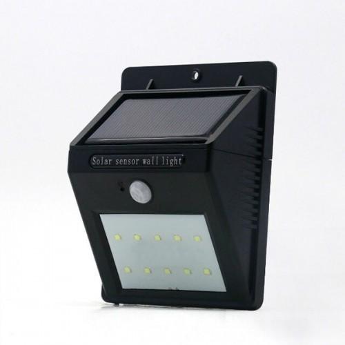 Wireless Waterproof 10 LED Solar Security Wall Light Motion Sensor Lamp