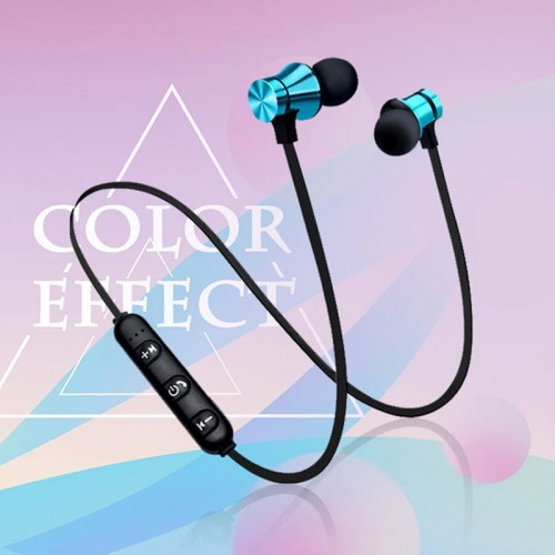 Magnetic Bluetooth Earphone V4.2 Stereo Sports Waterproof Earbuds Wireless in-ear Headset with Mic
