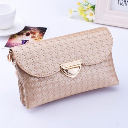 Famous Brands Knitting Women Clutches Casual Female Clutches Bags Versatile Women Messenger Bags Cross Body Bags