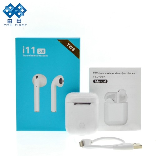 i11 TWS Mini Bluetooth Earbuds Wireless Earphones Stereo Touch Control With Mic