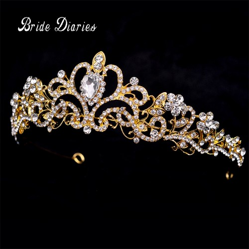 Women Crystal Hair Crowns