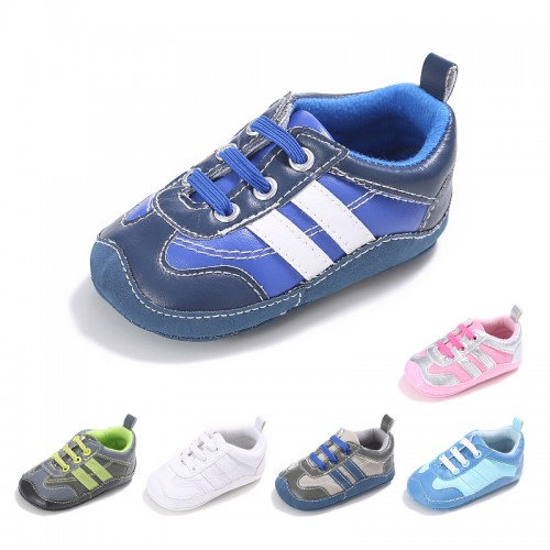 Fashion Spring and Autumn Soft Bottom Sports Casual Baby First Walker Toddler Shoes