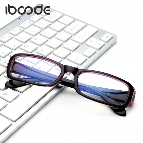 Classic Blue Film Clear Lens Glasses Anti radiation Computer Surfing Eyewear Glasses Frame Antifatigue Eyeglasses