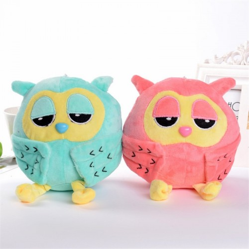 Night Owl Plush Sleeping Eye Lovely Toy