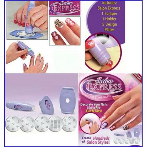 Express Nail Art Kit Stamping Art Nail Printer Fashion Product