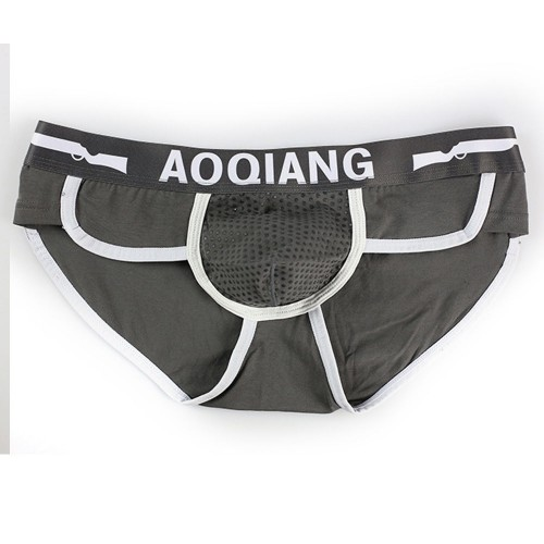Soft Cotton Bulge Pouch Underwear