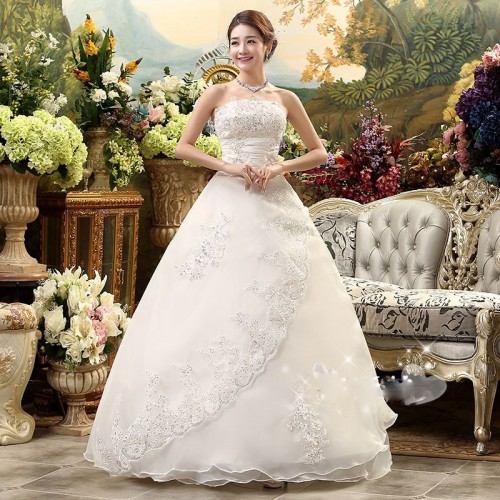 Elegant Bridal Dress Gown