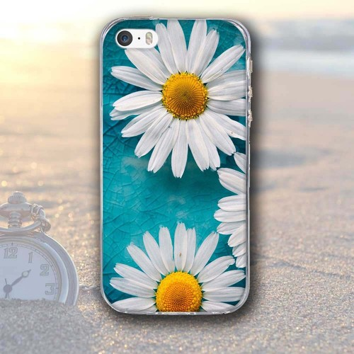 Flower Printed Case for Apple iPhone