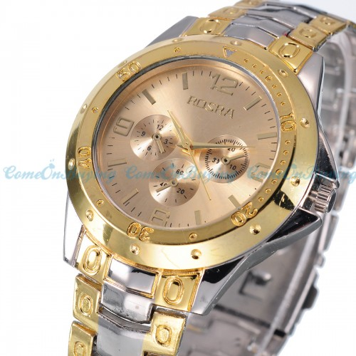 Luxury Date Dial Stainless Steel Wrist Watch