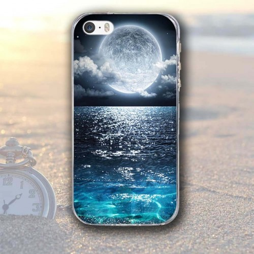 Moon Printed Case for Apple iPhone