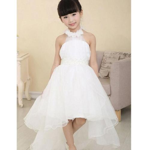 White Princess Long Frock
