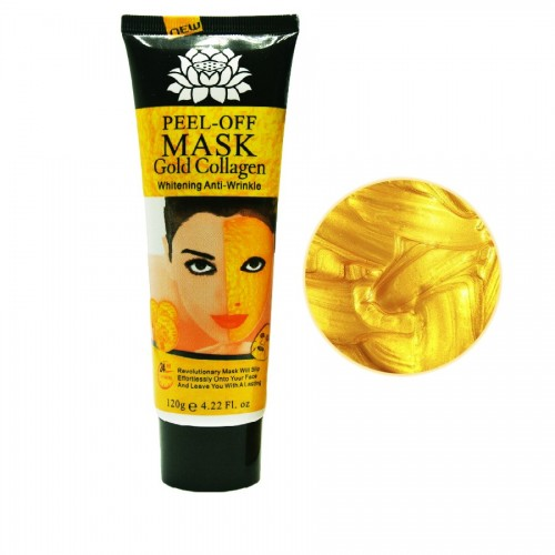 24K Gold Mask Collagen Facial mask Peel off Skin Whitening Anti wrinkle Anti Aging