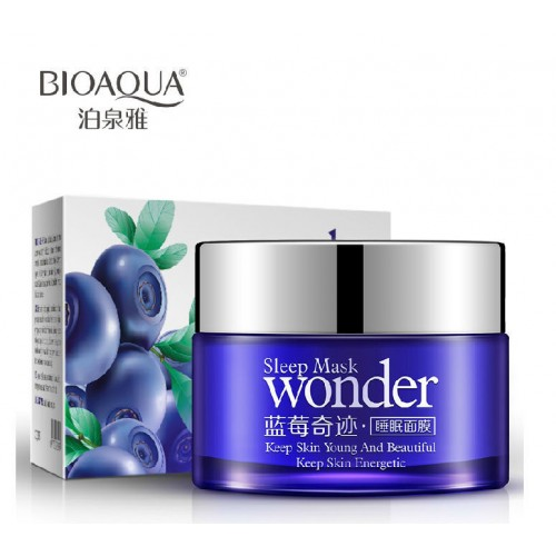 BIOAQUA Sleep Mask Blueberry Wonder Acne Treatment