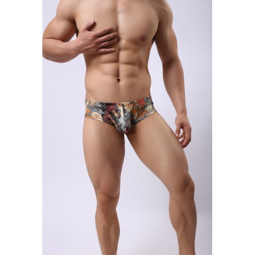 Small Homme Pouch Vintage Printed Underwear