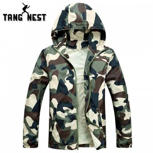 Men Fashion Camouflage Jacket Summer Tide