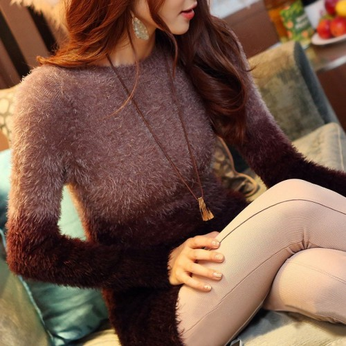 Soft Mohair Knitted Sweater
