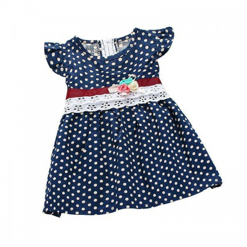 Dot Printed Baby Bohemian Dress