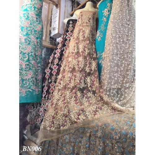 Embellished Net Suit