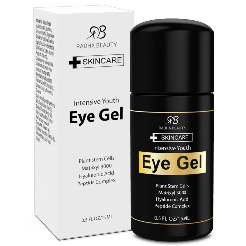 Radha Beauty Eye Gel for Dark Circles, Puffiness, Bags & Wrinkles