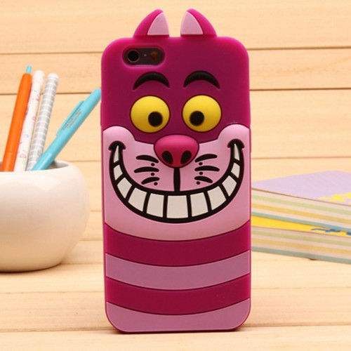 Monster Pink 3D Soft Silicone Phone Case Cover for iPhone