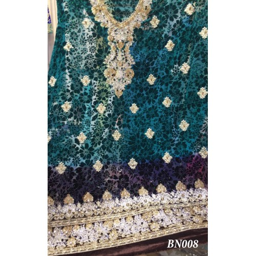 Embellished plachi suit