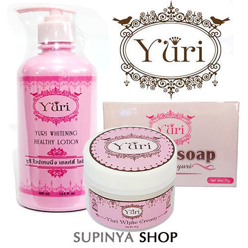 YURI WHITENING BODY GINSENG SET
