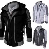 Stylish Men's Slim Collar Jacket