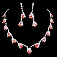 Elegant Bridal Crystal Jewelry Set