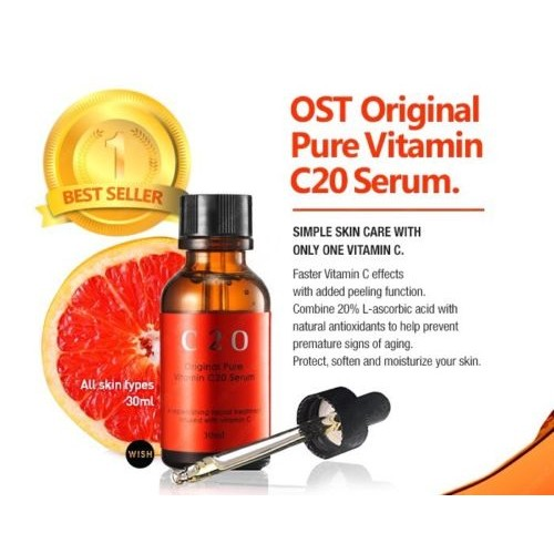 Original Pure Vitamin C20 Serum For Even Skin Tone