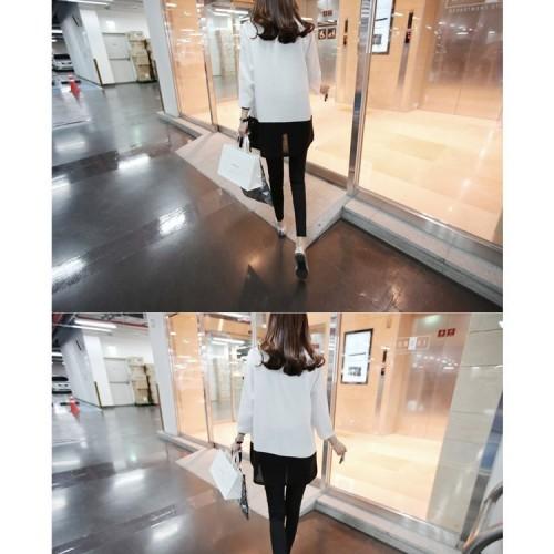 O-Neck Long Sleeve Linen Shirt