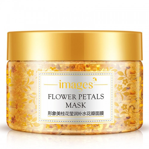 Flower Petals Sleeping Mask Moisturizing Night Cream Anti Aging Anti Wrinkle Nutrition Face Cream
