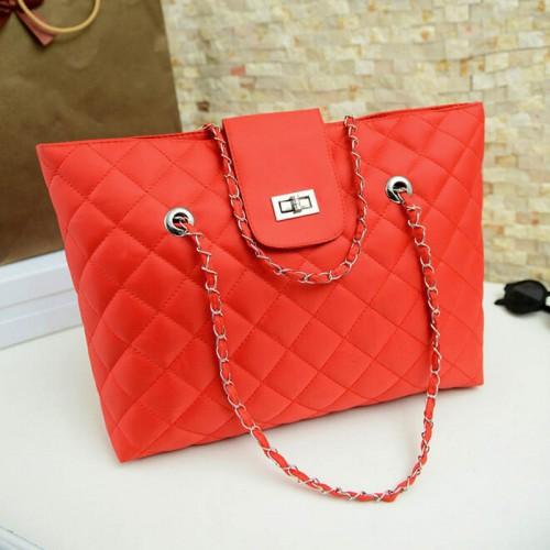 Women Sachel Leather Shopping Shoulder Bag