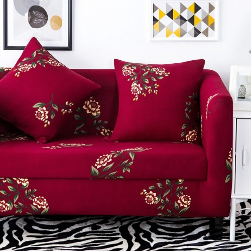 Elastic Sofa Cover Sectional Stretch Slipcovers for Living Room Couch Cover 12