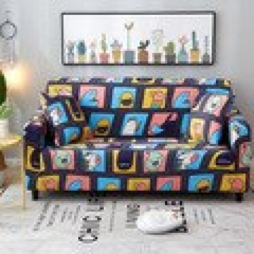 Elastic Sofa Cover Sectional Stretch Slipcovers for Living Room Couch Cover 27