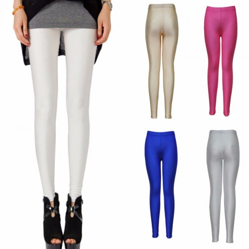 Stretchy Skinny Leggings Slim High Waist Pants
