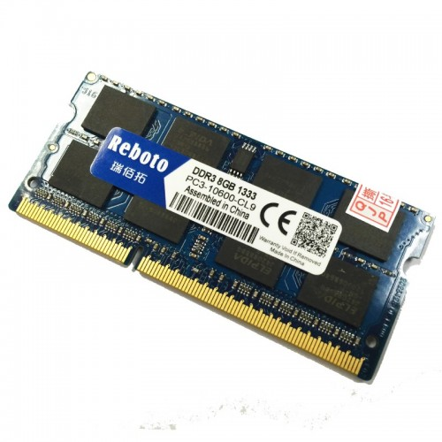8Gb 1600 Mhz DDR3 Ram For Laptop/Notebook