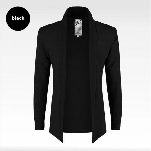 Open Stitch Extended Elegant Cardigan Shirt