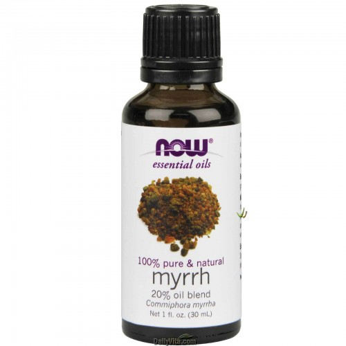 Now Foods, Essential Oils, 100% Pure Myrrh Oil Blend 30ml