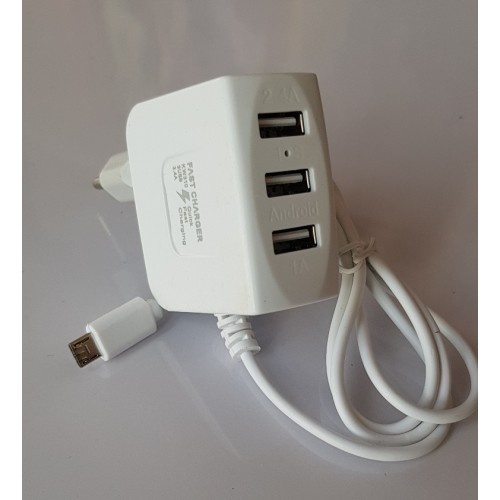 Fast 3 USB 3.4A High Quality Fast Charger