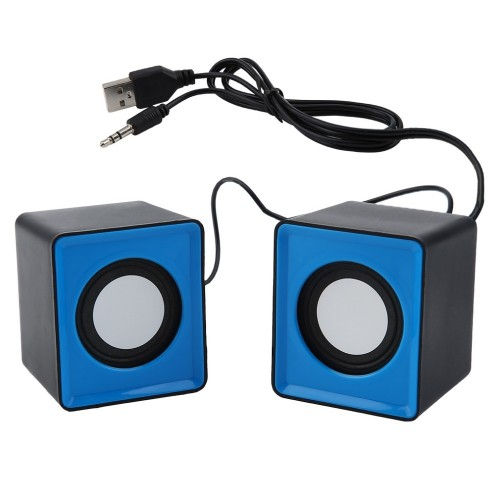 Portable speaker Mini USB 2 0 speakers Music Stereo for computer Desktop PC Laptop Notebook home