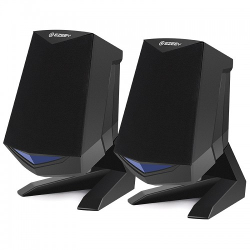 Surround Computer Speakers with Deep Bass USB Wired Powered Multimedia Speaker for PC Laptops Builtin Loudspeaker
