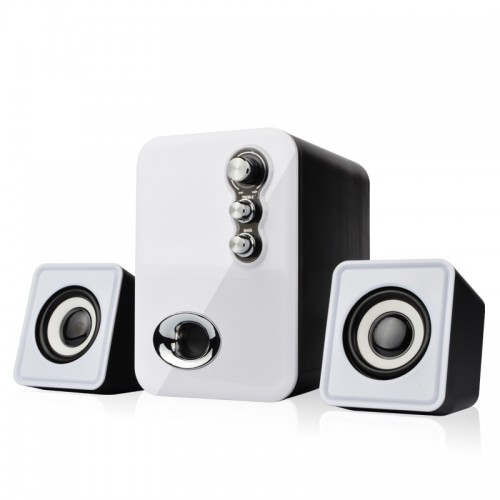 Wired Mini Computer Speakers USB 2 0 Stereo Portable PC Speaker 2 1 Subwoofer Multimedia Mini