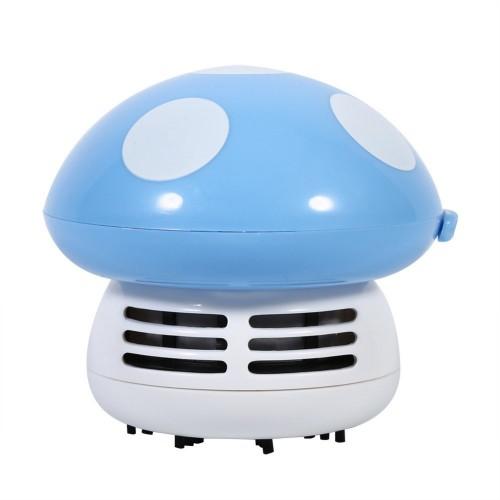 Mini Mushroom Vacuum Cleaner Multi Function Cleaning Brush for Desktop Cleaning Tables Dust Cartoon Vacuum Cleaner