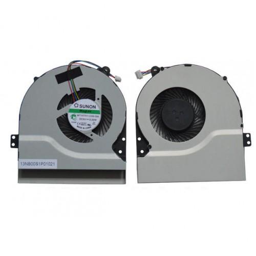 NEW For ASUS X552MD X552MJ X552V X552VL X552W X552WA X552WE F552 Cpu Cooing Fan