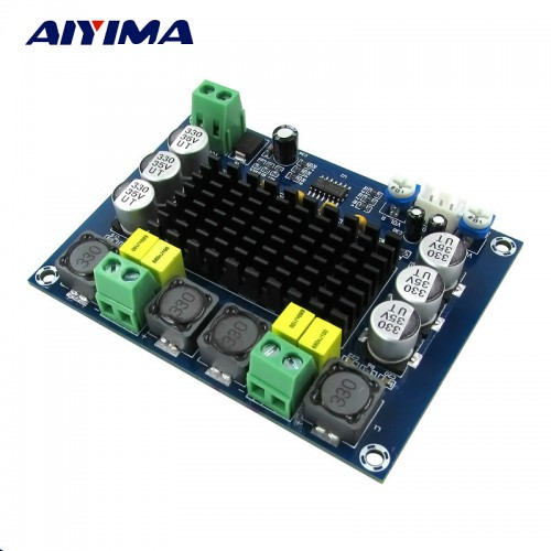 Aiyima Dual channel Stereo High Power Digital Audio Power Amplifier Board Amplifiers